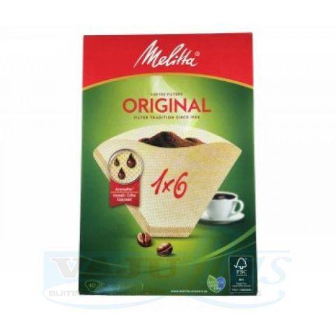 Melitta Kaffefilter 1X6