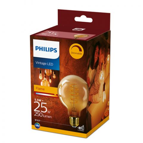 Philips LED classic 25W G93 E2