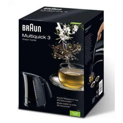 BRAUN Multiquick 3 Water Kettle WK300 Onyx