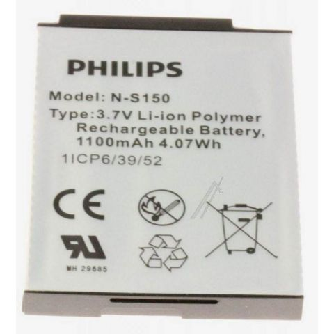 PHILIPS Oppladbar batteri / Rechargeable battery SCD603