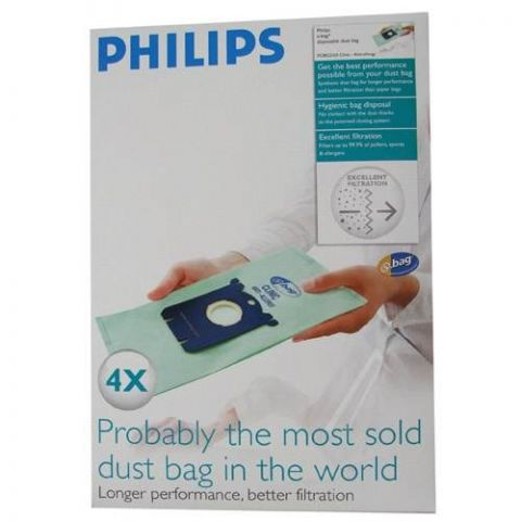 PHILIPS FC8022 anti-allergisk Støvsugeposer 4stk