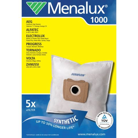 Menalux 1000 Støvsugerposer