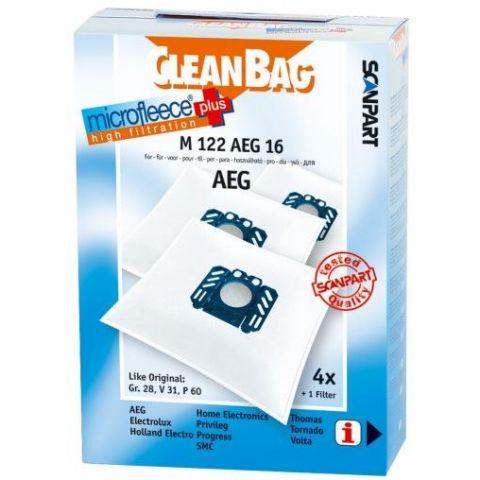 AEG CleanBag M 122 AEG 16 Støvpose