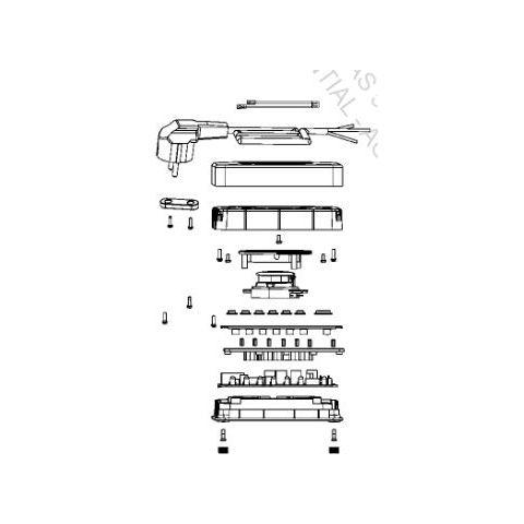 WMF Kitchen Mini 0413180011 Base plate + Cord