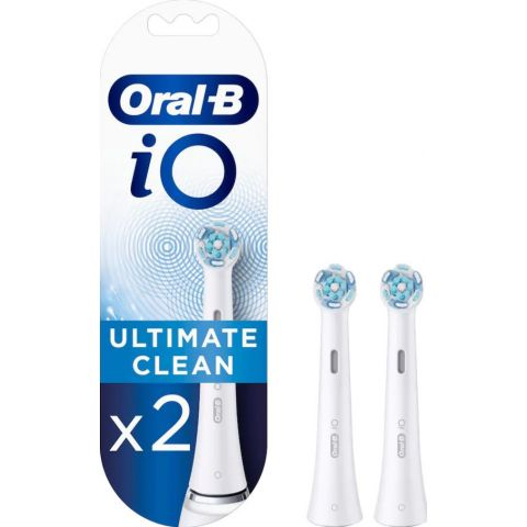 Oral-B IO 3758 Ultimate Clean Tannbørsterefill X2